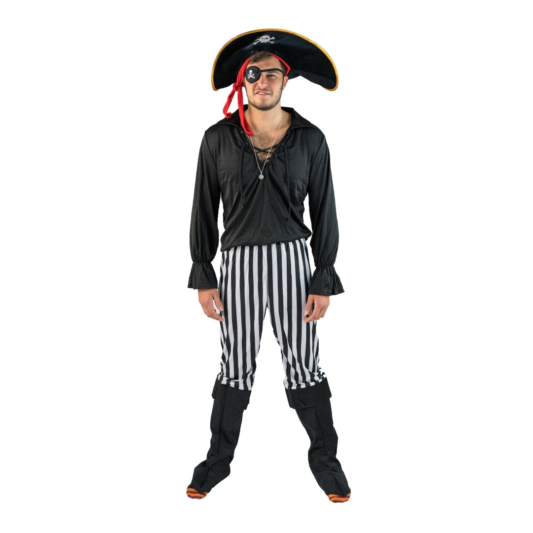 Black Pirate Costume