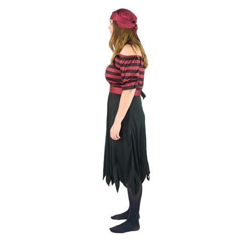 Women's Black Pirate Costume