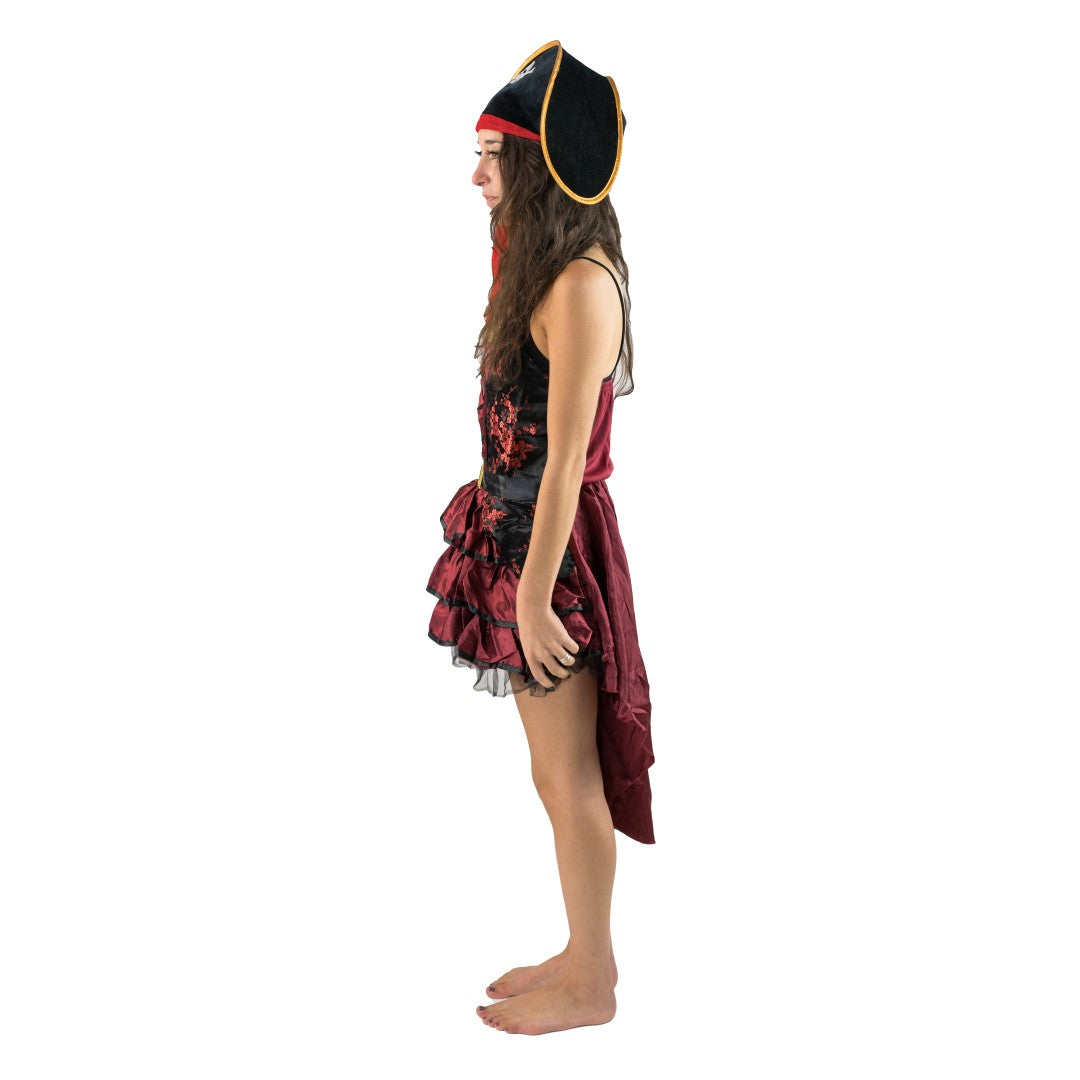 Women's Posh Pirate Costume