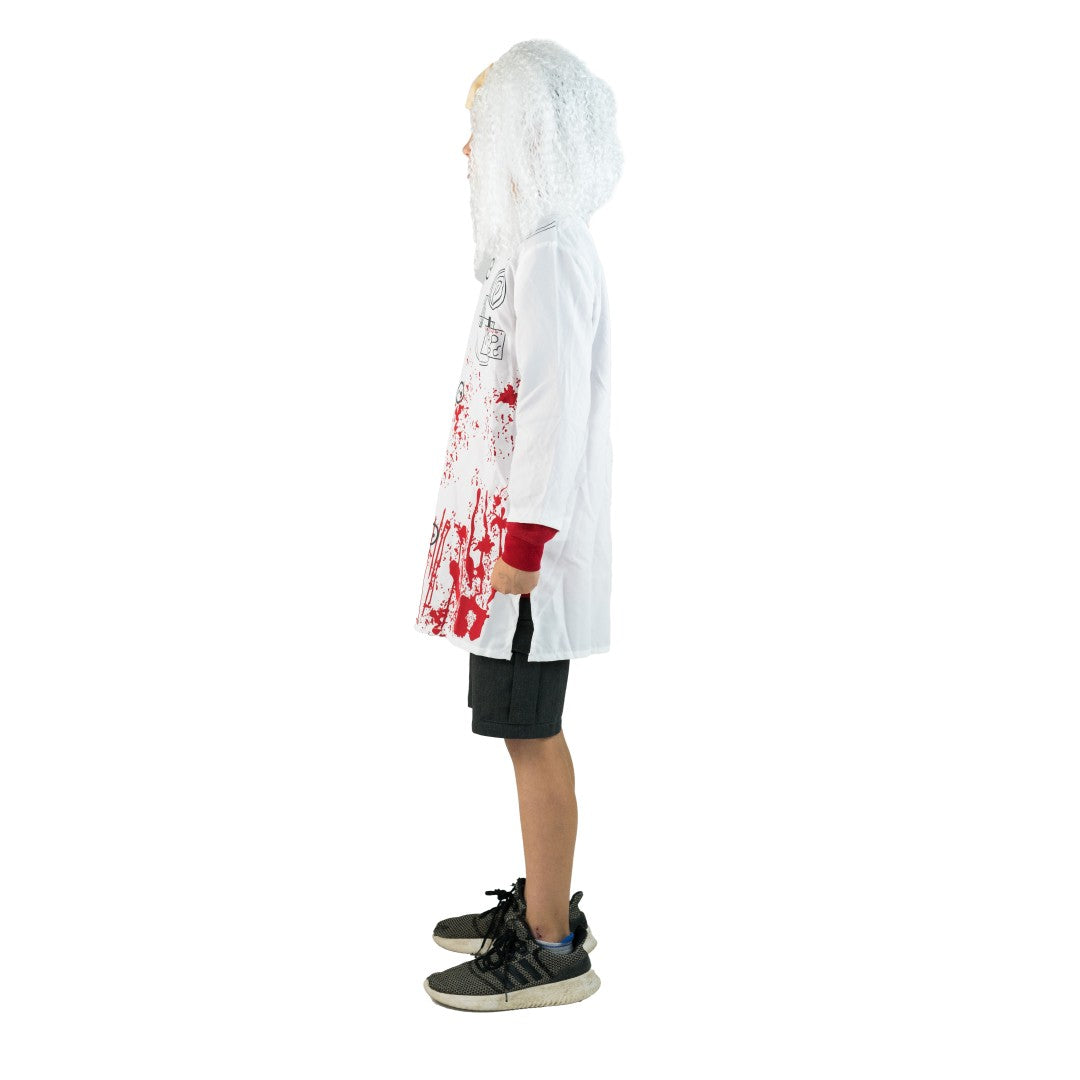 Kids Unisex Evil Doctor Costume