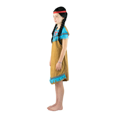 Kids Blue Native American Costume