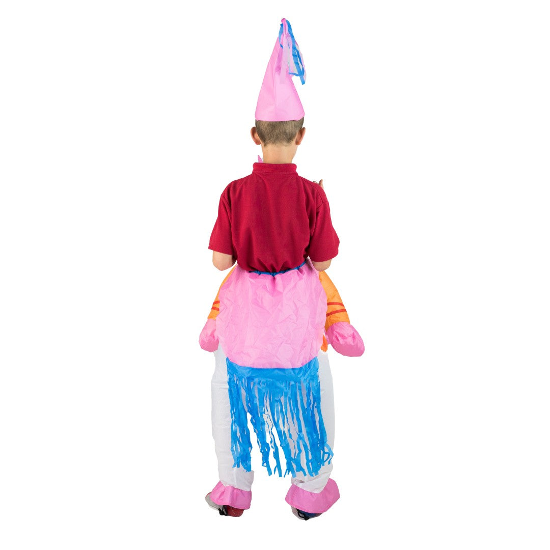 Kids Inflatable Unicorn Costume