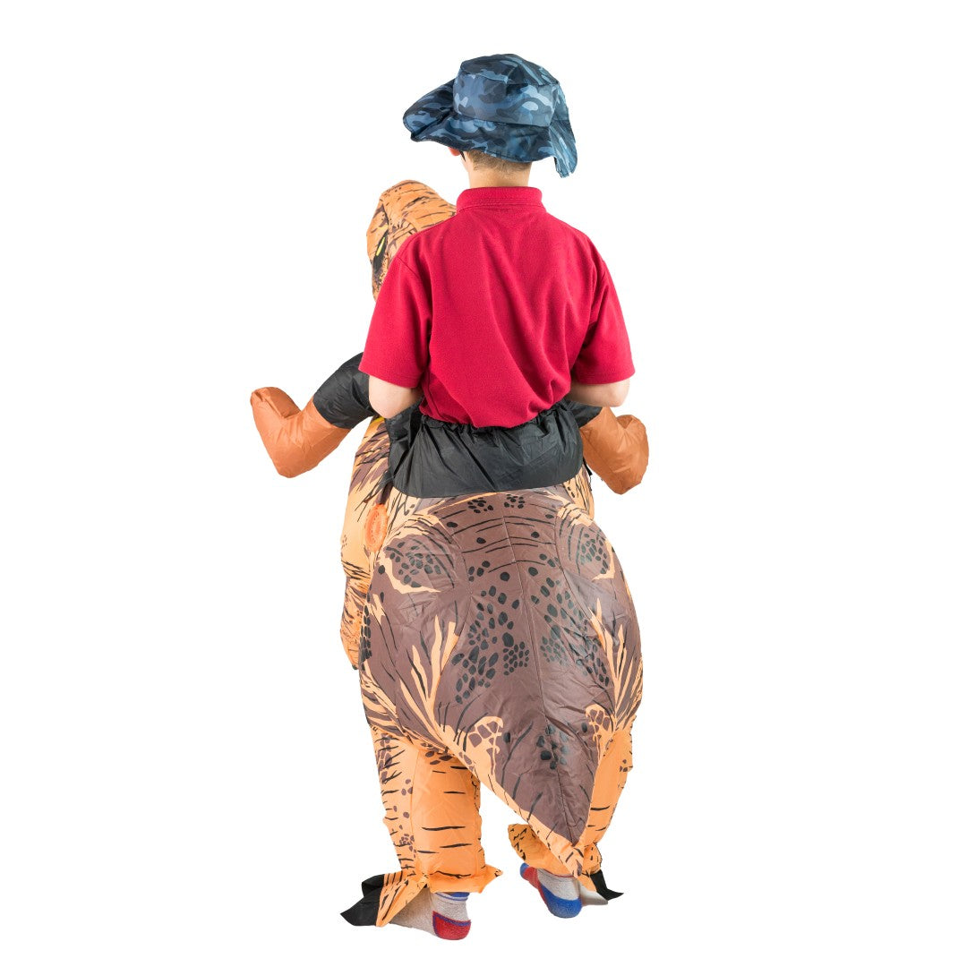 Kids Deluxe Inflatable Dinosaur Costume