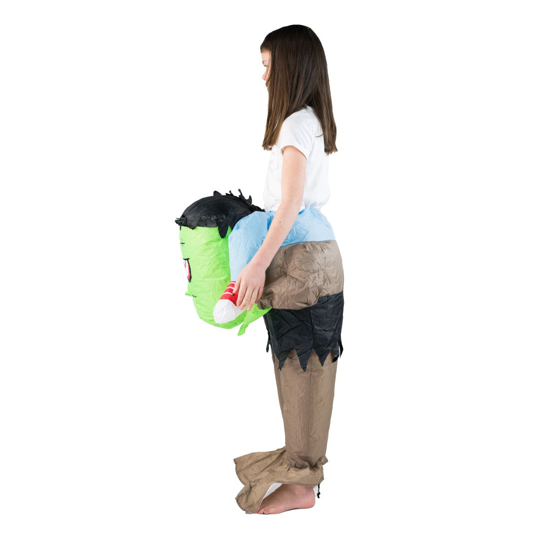 Kids Inflatable Lift You Up Frankenstein Costume
