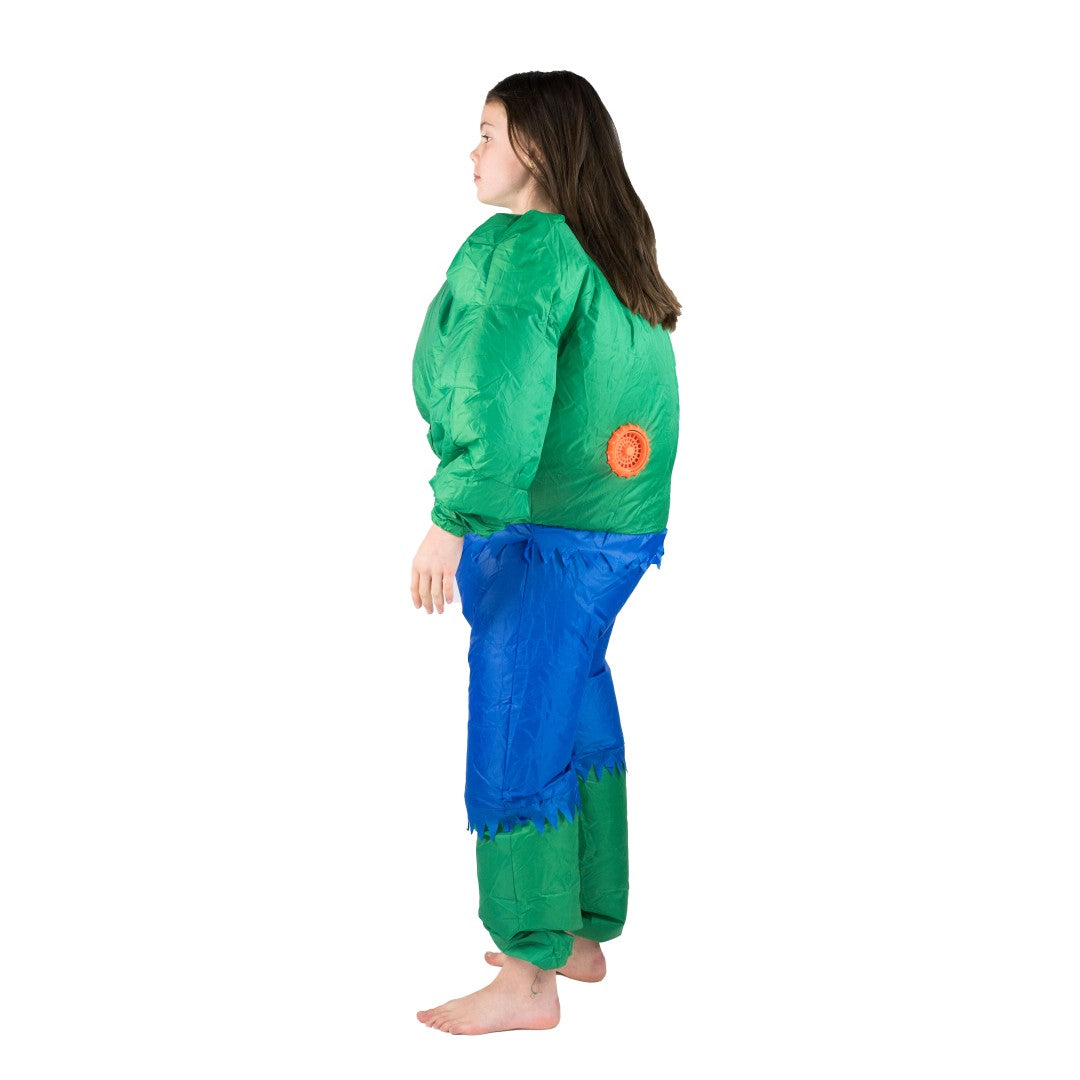 Kids Inflatable Hulk Costume