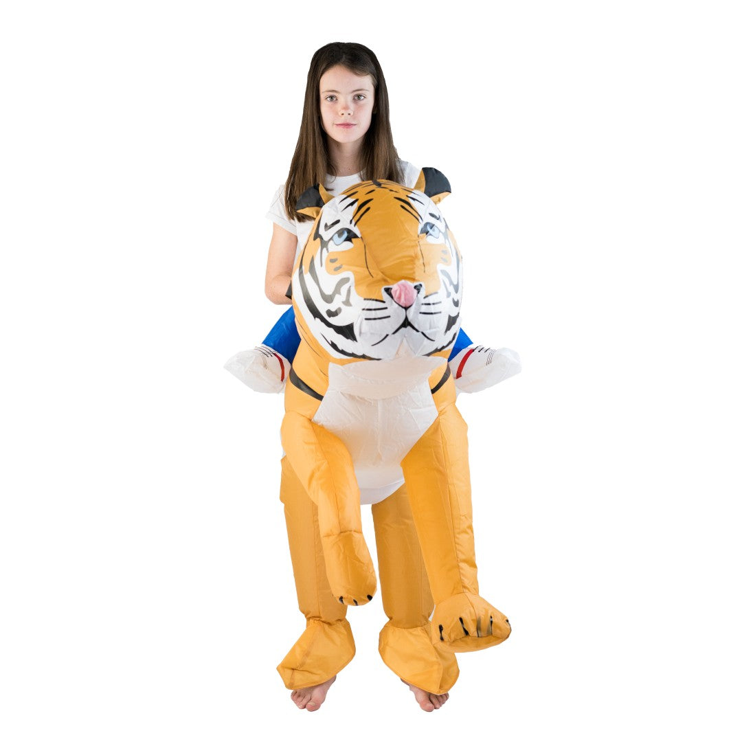 Kids Inflatable Tiger Costume