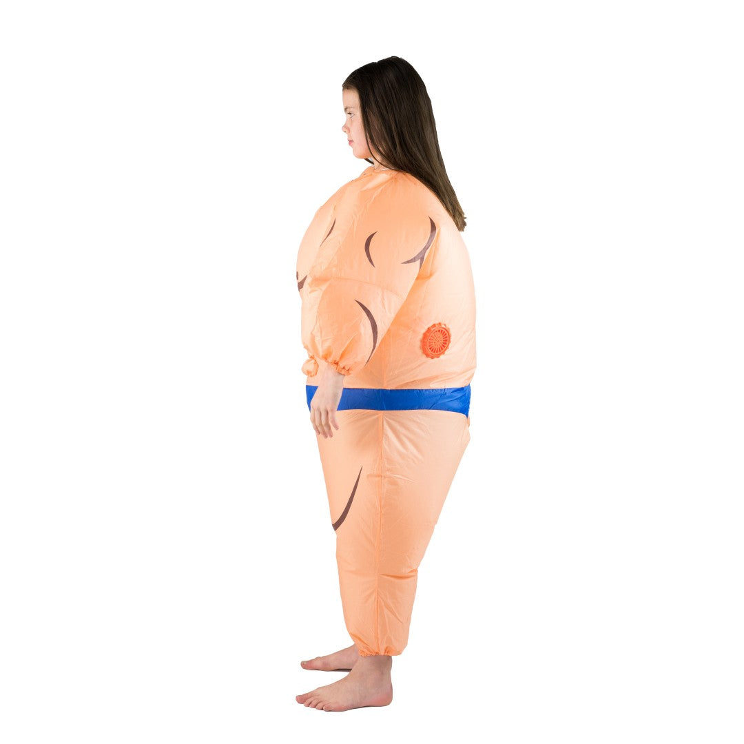 Kids Inflatable Muscle Suit Costume