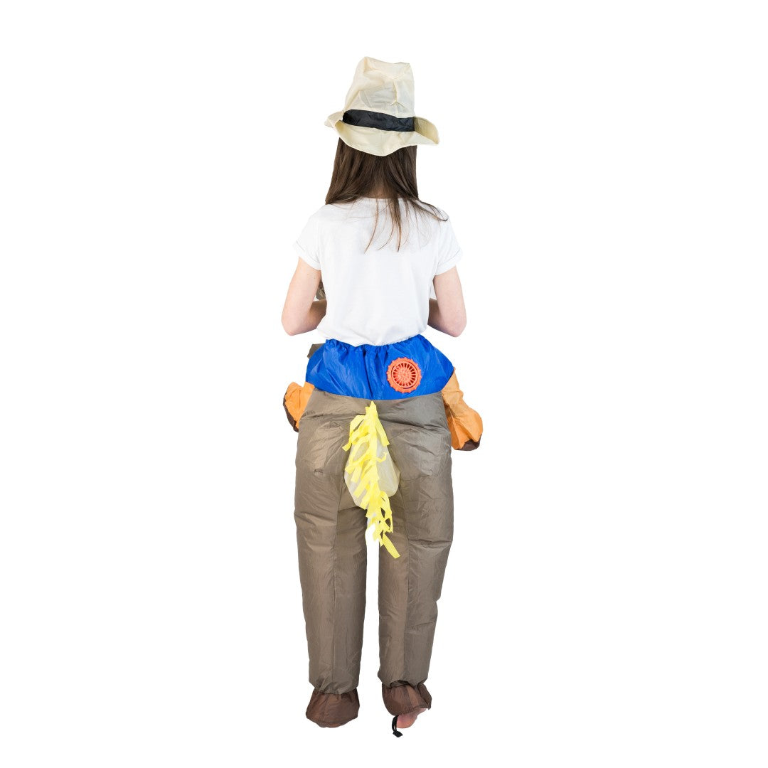 Kids Inflatable Cowboy Costume