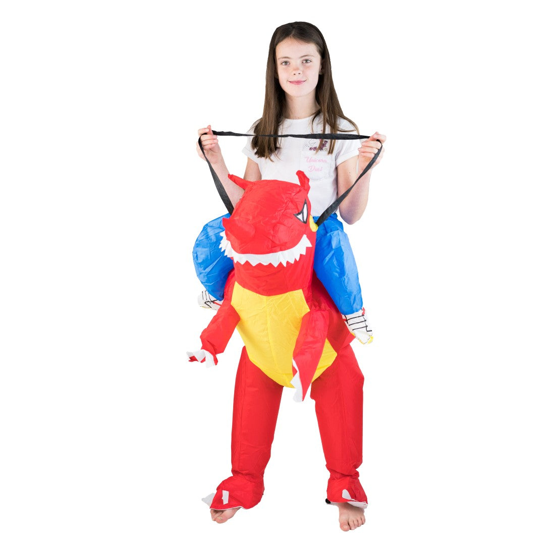 Kids Inflatable Dragon Costume