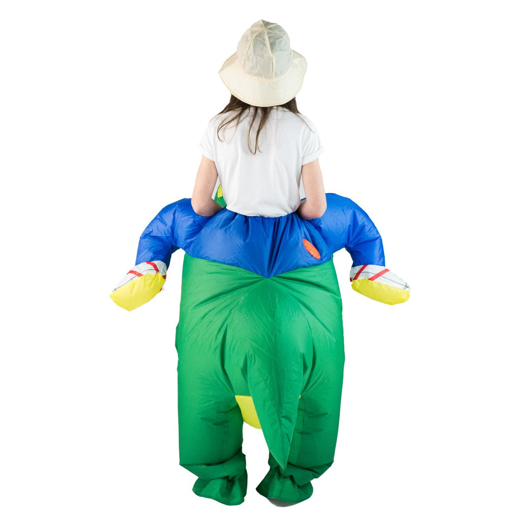 Kids Inflatable Dinosaur Costume