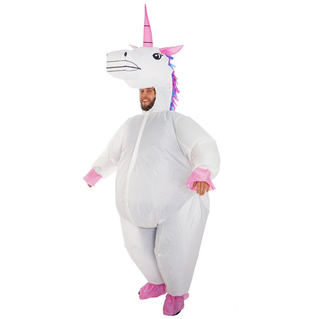 Inflatable Deluxe Unicorn Costume