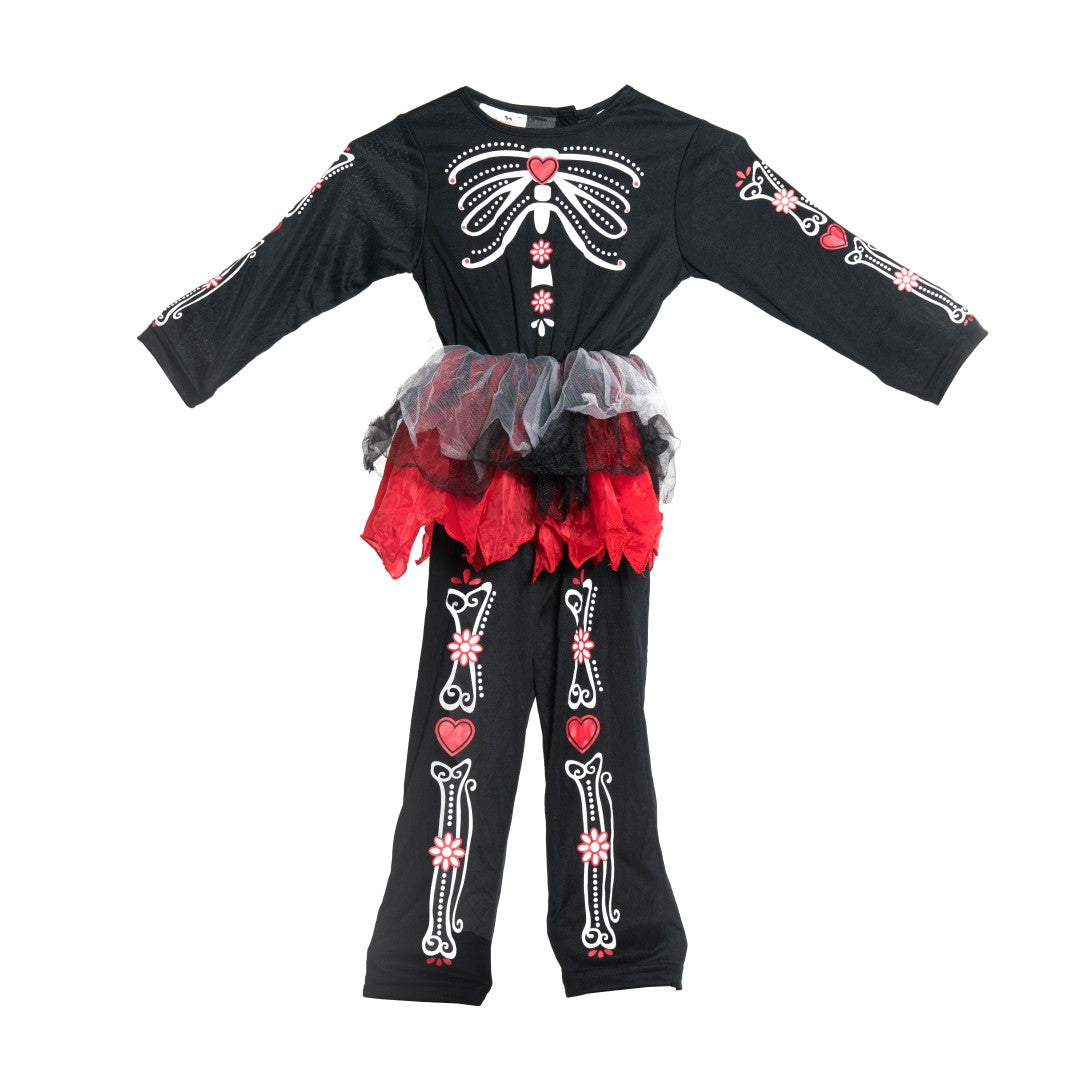 Kids Day Of The Dead Costume