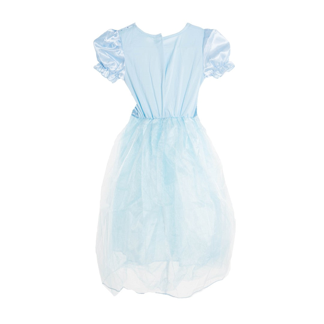Kids Blue Dazzling Princess Costume