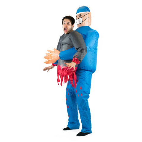 Inflatable Lift You Up Doctor Costume