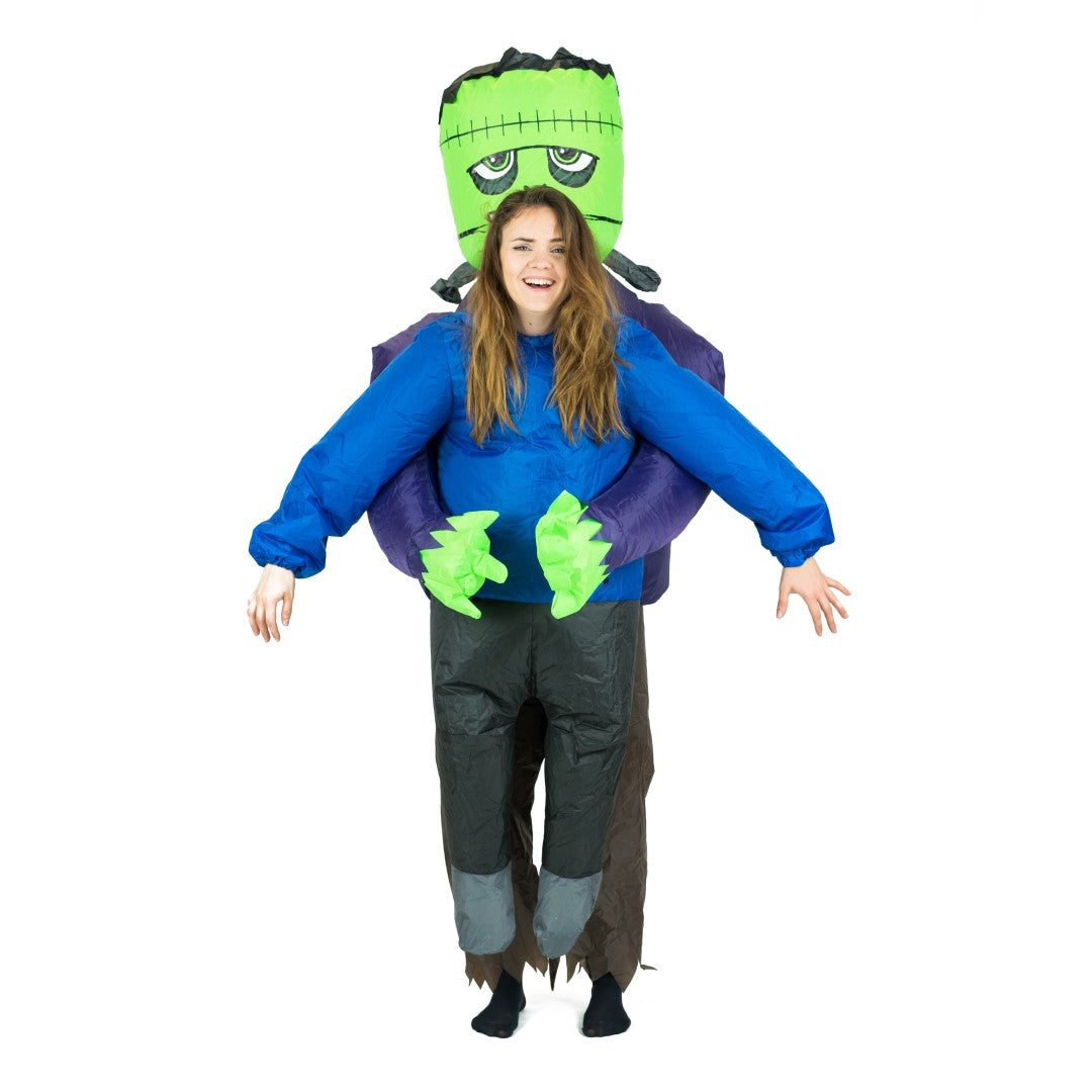 Inflatable Lift You Up Frankenstein's Hostage Costume
