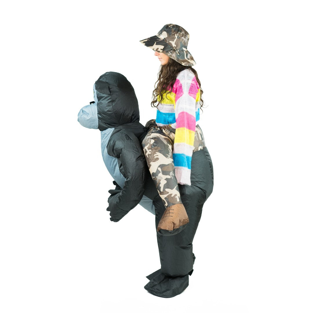 Inflatable Gorilla Costume