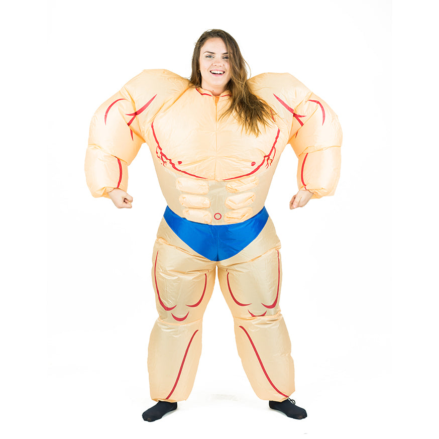 Inflatable Muscle Suit Costume