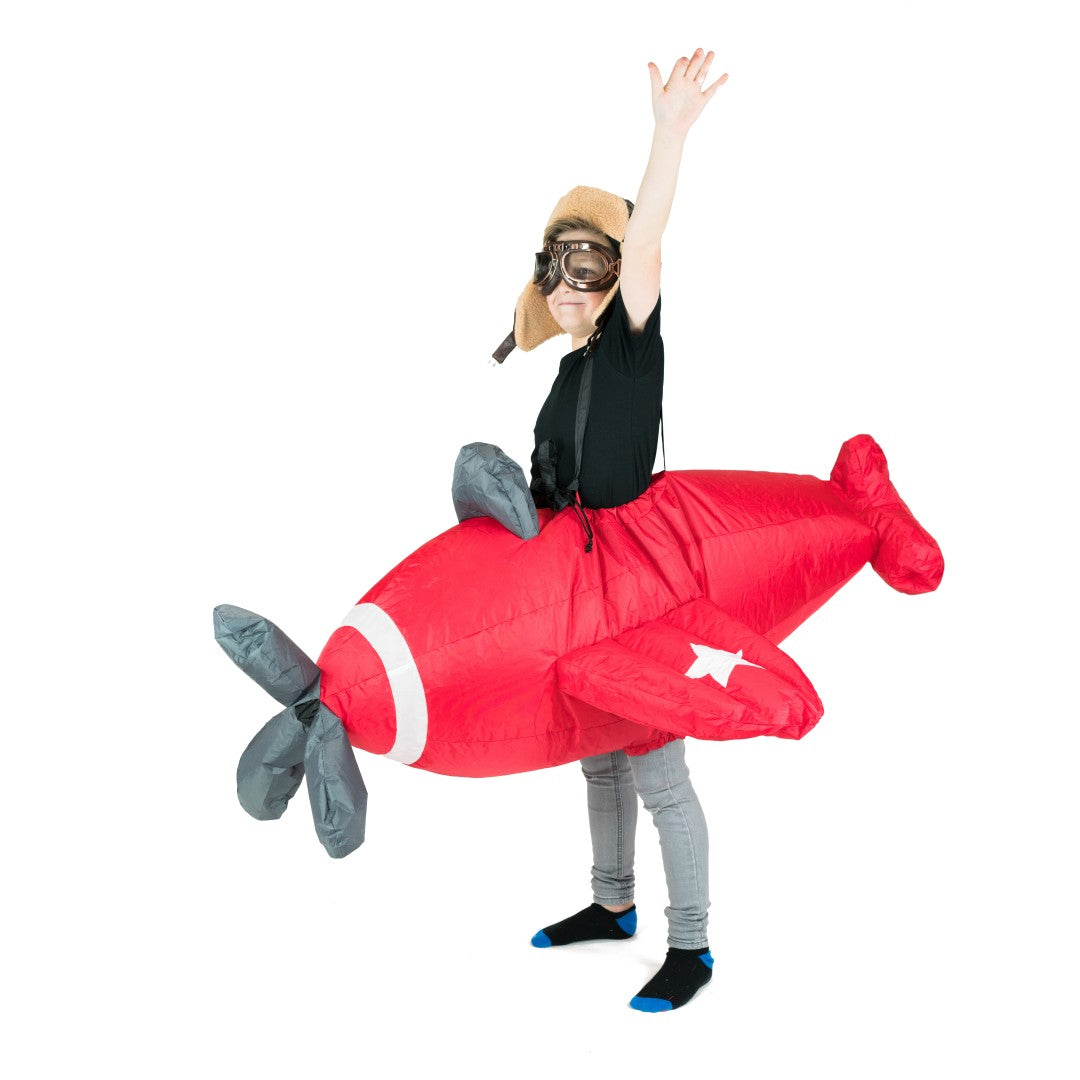 Kids Inflatable Plane Costume