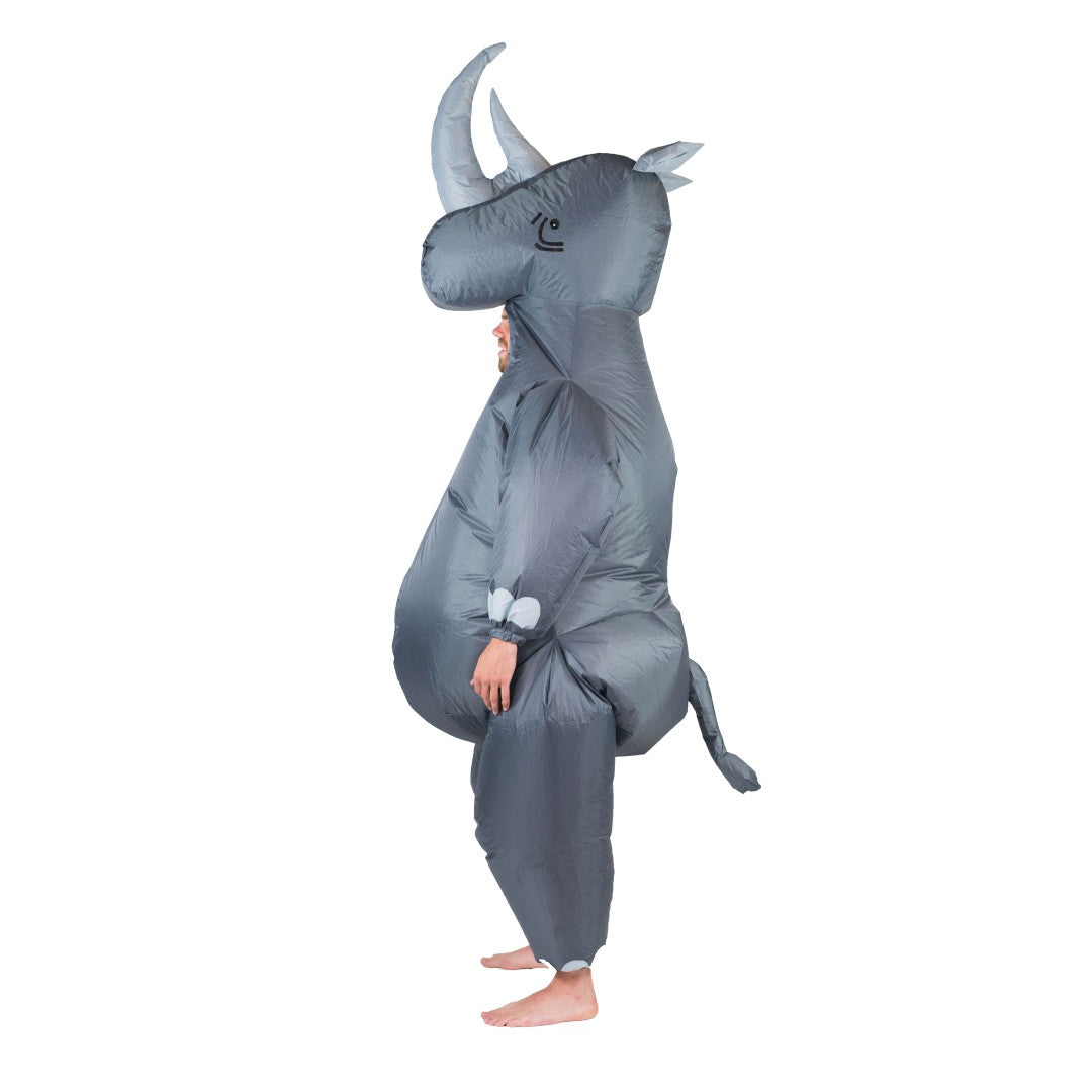 Inflatable Rhino Costume