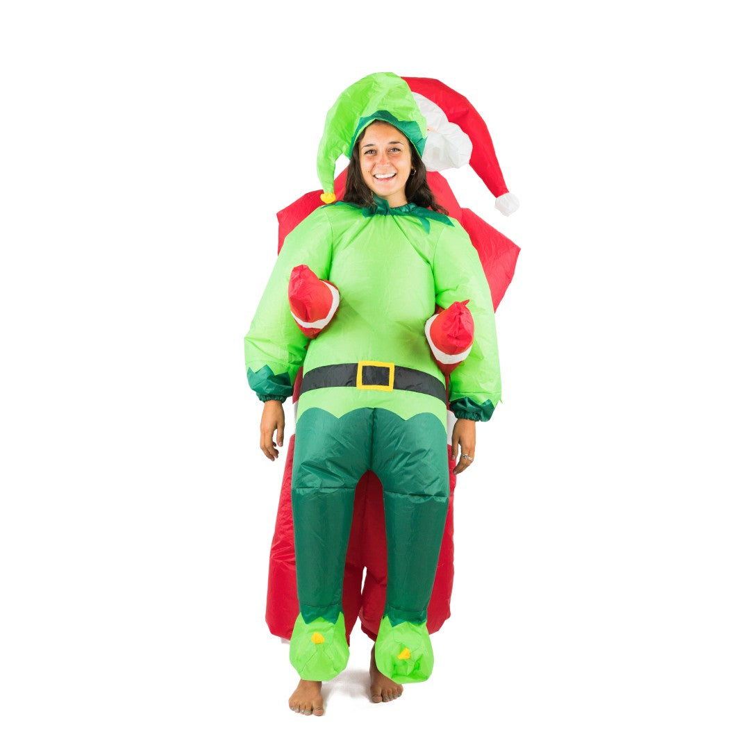 Inflatable Santa & Elf Costume