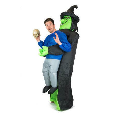 Inflatable Lift You Up Witch Costume