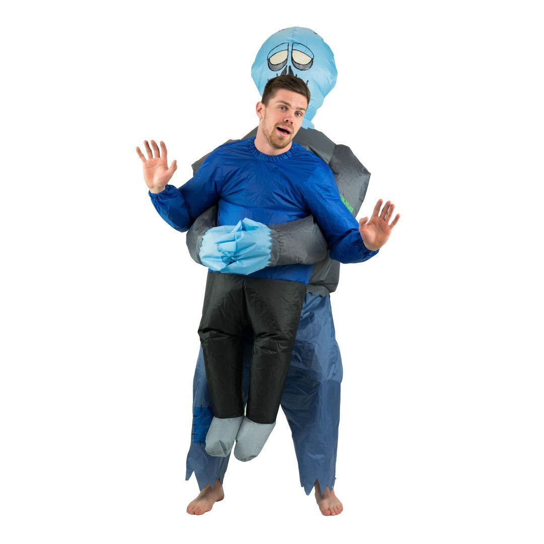 Inflatable Lift You Up Zombie Costume