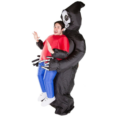 Inflatable Lift You Up Grim Reaper Costume