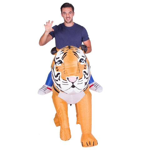 Inflatable Tiger Costume