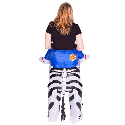 Inflatable Zebra Costume