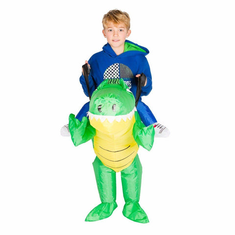 Kids Inflatable Crocodile Costume