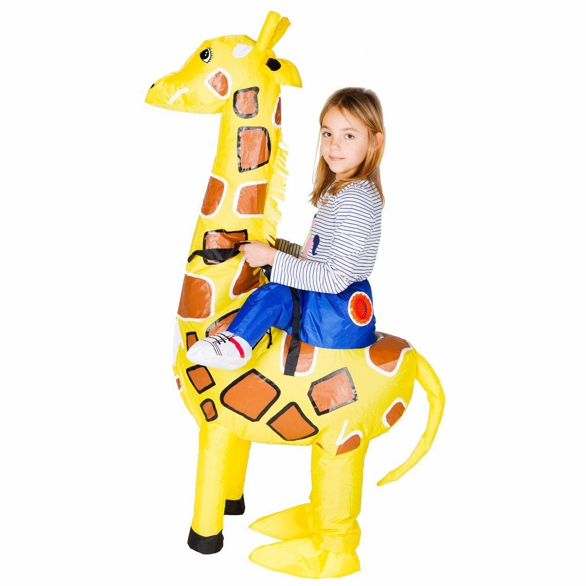 Fancy Dress - Kids Inflatable Giraffe Costume