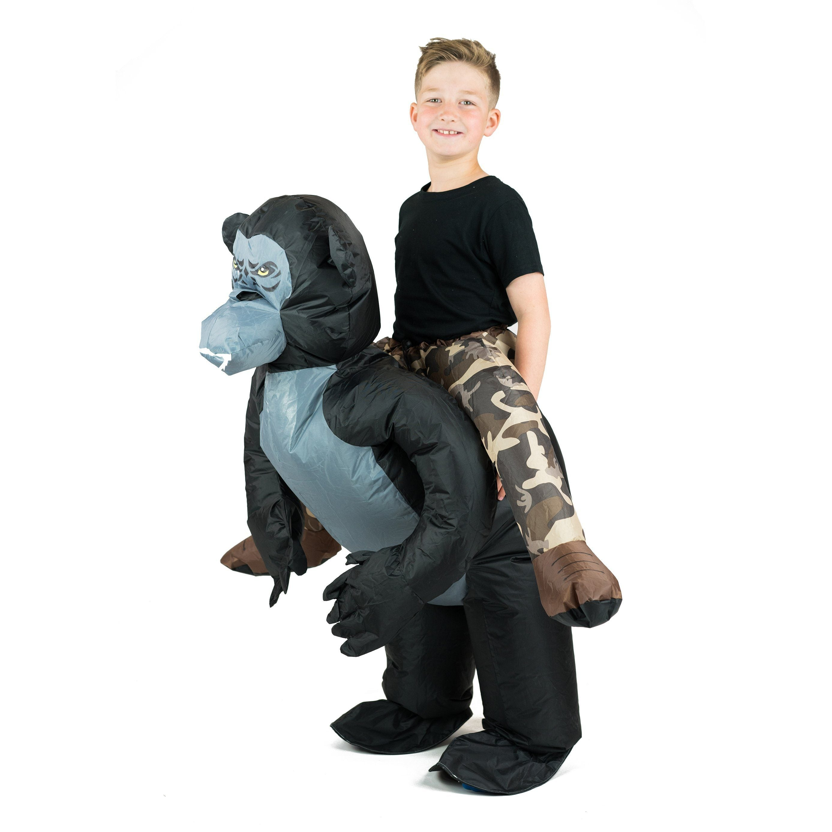 Fancy Dress - Kids Inflatable Gorilla Costume