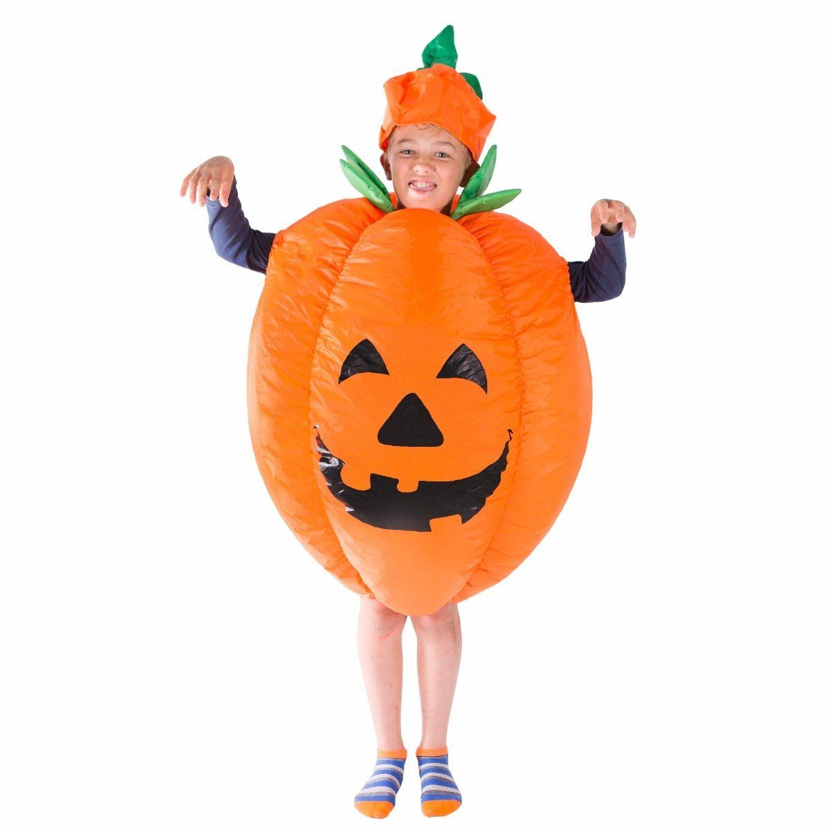 Fancy Dress - Kids Inflatable Pumpkin Costume
