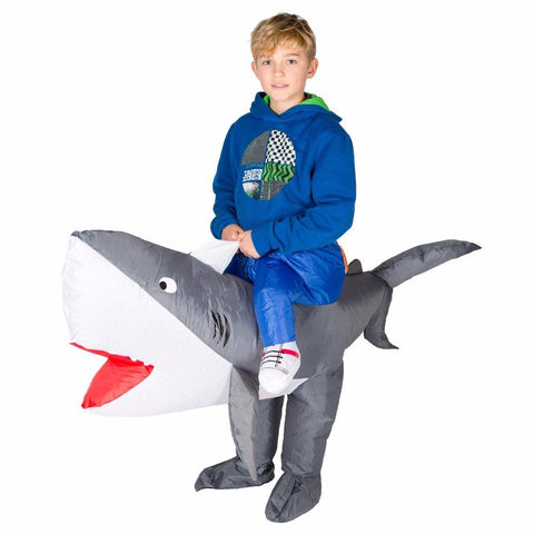 Fancy Dress - Kids Inflatable Shark Costume