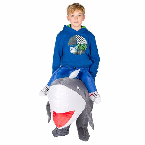 Kids Inflatable Shark Costume