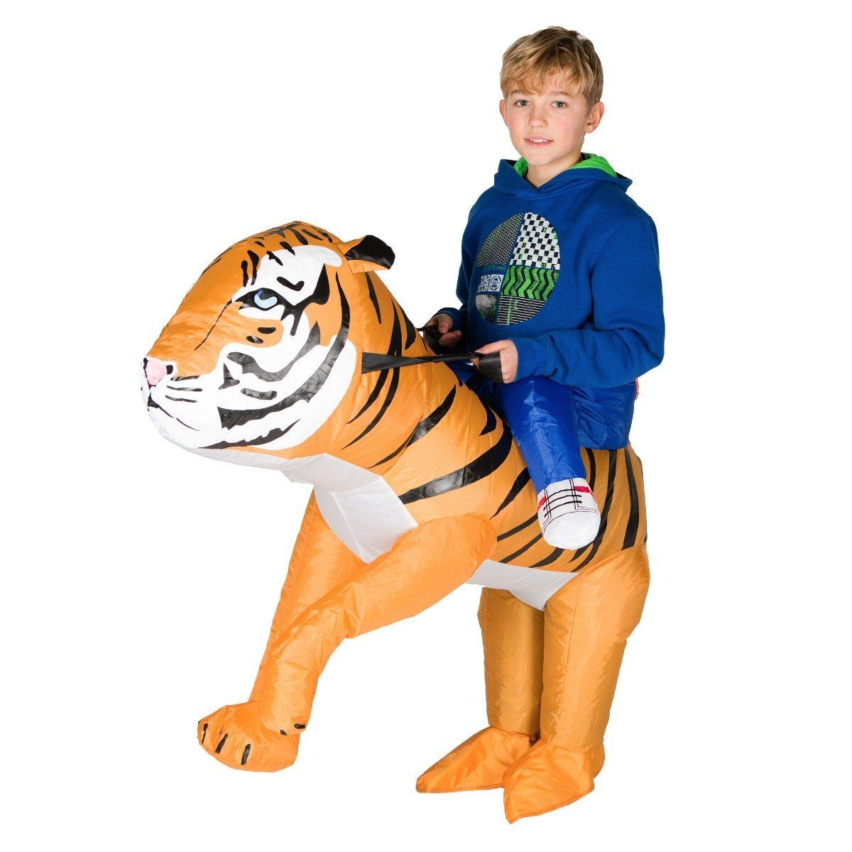 Fancy Dress - Kids Inflatable Tiger Costume