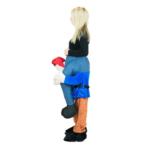 Piggyback Gnome Costume