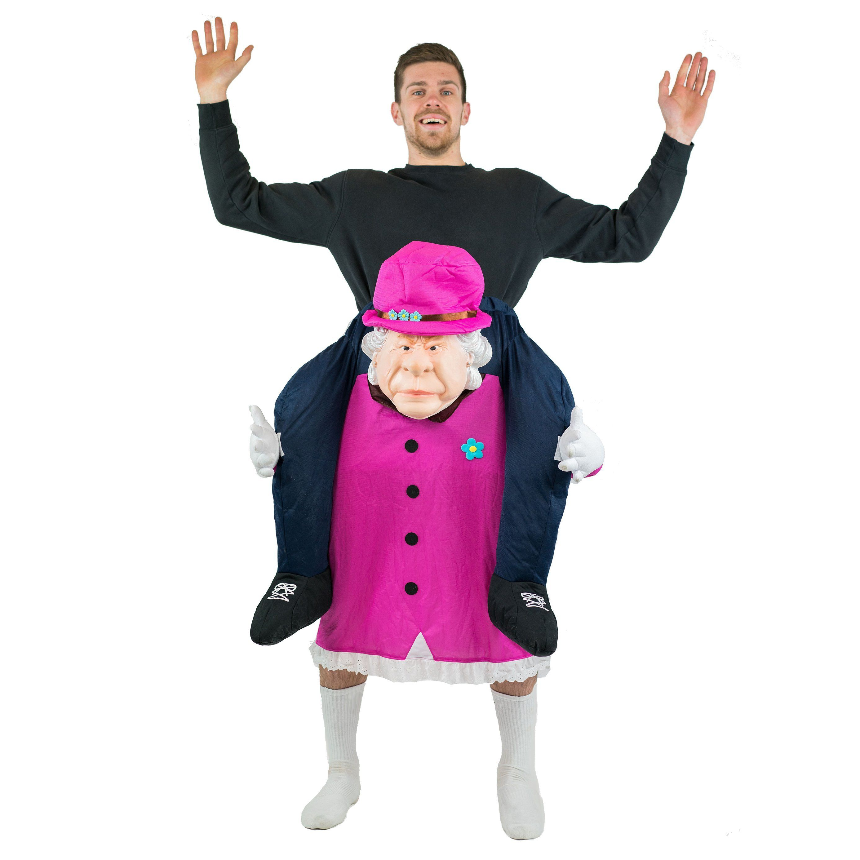 Fancy Dress - Piggyback Queen Elizabeth Costume