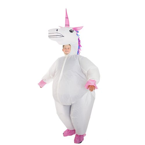 Kids Deluxe Inflatable Full Body Unicorn Costume
