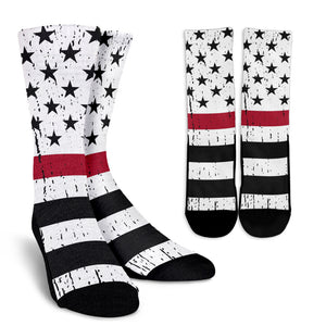 American Firefighter Crew Socks