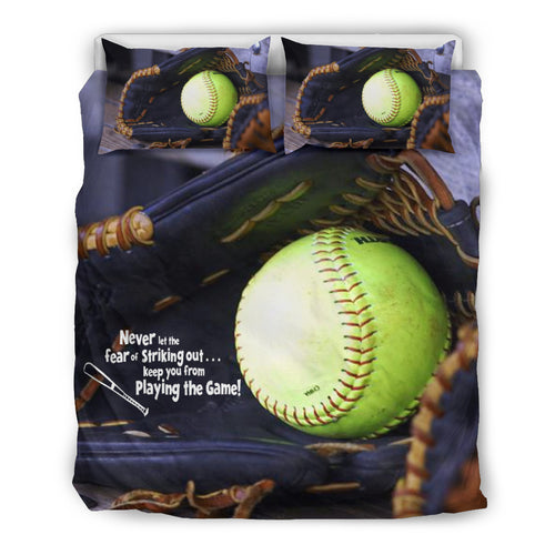 Softball Glove Bedding Sets
