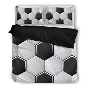 Football Black Bedding