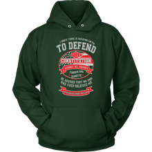 Load image into Gallery viewer, Veteran Oath Hoodie