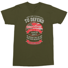 Load image into Gallery viewer, Veteran Oath Military T-Shirt