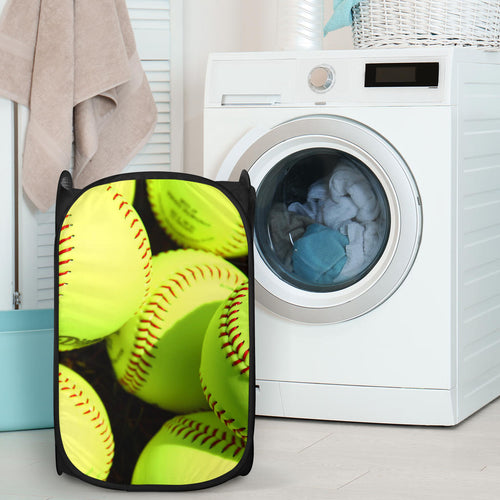 Softball Laundry Hamper