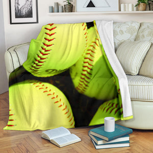 Softball Lovers blanket