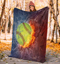 Load image into Gallery viewer, Softball Blanket