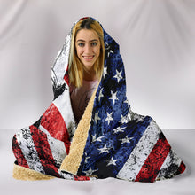 Load image into Gallery viewer, Firefighter Hooded Blanket