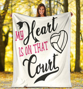 Volleyball Lovers Blanket!