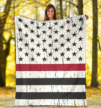 Load image into Gallery viewer, American Firefighter Blanket